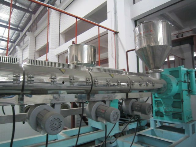 Twin Layer Plastic Sheet Extrusion Machine PS/GPPS/HIPS