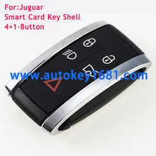Replacement Smart Remote Car Key Case Shell 5 Button fit for JAGUAR X S-Type XF XK XKR