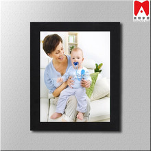 "Decorative Black PS 1.25"" Wide Wall Hanging Poster, Picture, Photo Frame, 9x12"""