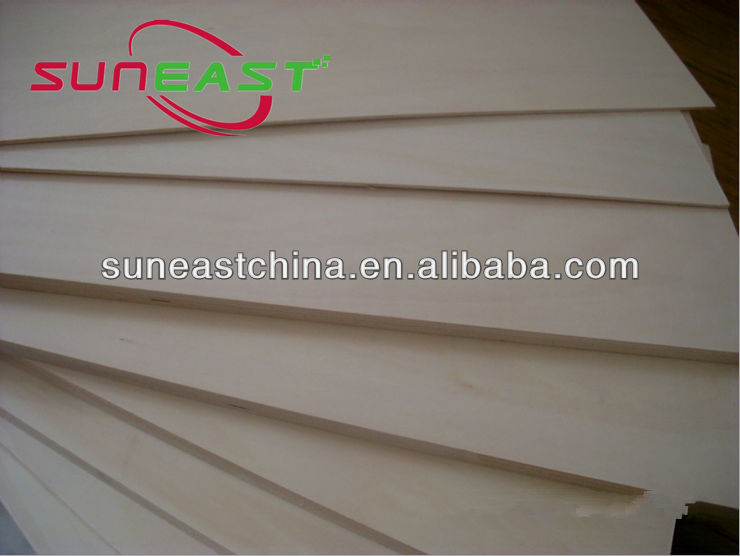 3mm basswood plywood for 3D toys,Basswood process plate for model airplane