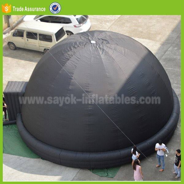 digital cinema inflatable projection dome tent with logo for sale
