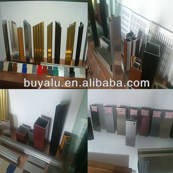 All kinds of high quality aluminium extrusion profile for Latin America