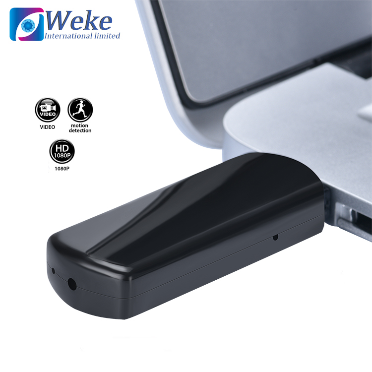 WEKE New <strong>1080P</strong> SPY <strong>U</strong> disk flash latest mini hidden camera