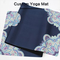 Outdoor exercise use yoga & Pilate Type organic yoga mat,yoga mat private label