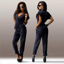 2016 Office Style Sexy Fashion Jumpsuits For Women Made In China