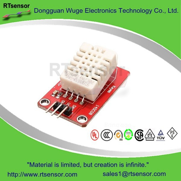 Using the DHT11/DHT22 Temperature/Humidity Sensor with a