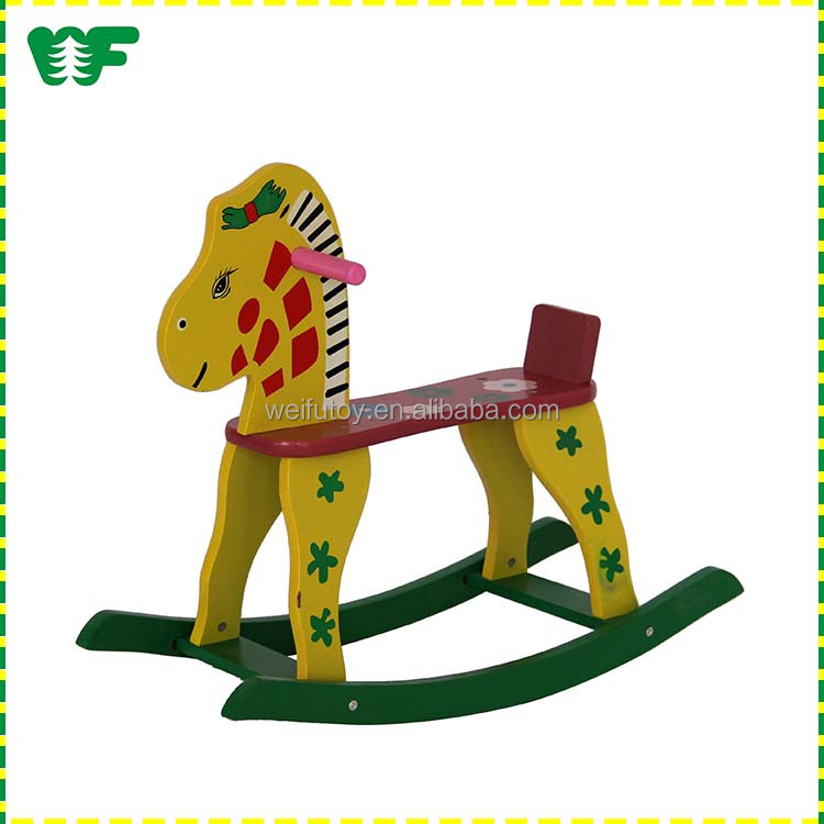 New design toy wooden rocking horse toy for kids