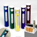 New 2017 Portable mini USB charging electric wire metal lighters