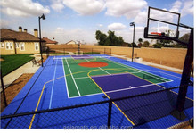 Basket ball rubber flooring, Rubber gym flooring