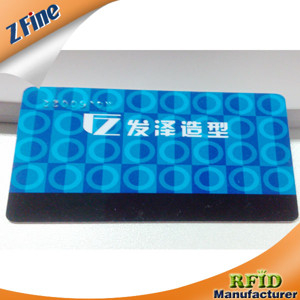 CMYK Full Color Printing Plain PVC Proximity ID Card EM Series Chip