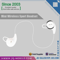 Manufacturer wireless stereo super mini & micro bluetooth earphone/headset in-ear for sports