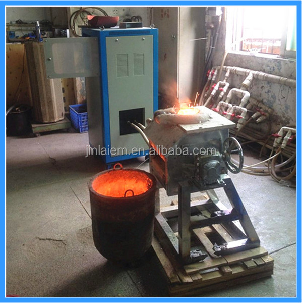 Gold Induction Heating Machine Gold Induction Smelting Oven Gold Induction Furnace (JLZ-35)