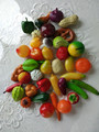 wholesale plstic fruit , plastic mini fruit