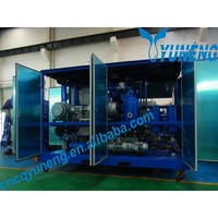 Purifying Transformer Oil Mobile Oil Refinery Plant for Sale