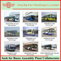 Manufacturers Looking for Agents or Distributors of Available Assembling Urban Buses for Sale in SKD and CKD Kits