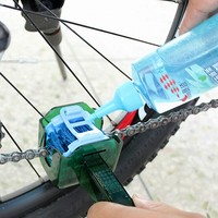 Bicycle Quick Wash Chain Cleaner Tool kits Cycling Multifunctional Clean Brushes