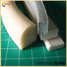 Heat and fuel resistant high pressure flexible different color extrustion silicone sponge foam cord rope