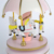 Pink Sound Control Carousel Music Box Birthday Gift For Girls