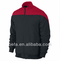 Hot sale 2014 new season thailand quality MU jackets for men MU soccer jacket winter jacket