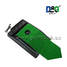 wholesale fashional Golf wooden electric putting trainer set