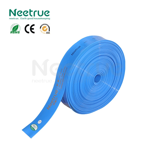 NEETRUE colourful PE agriculture lay flat discharge 2 inch water hose