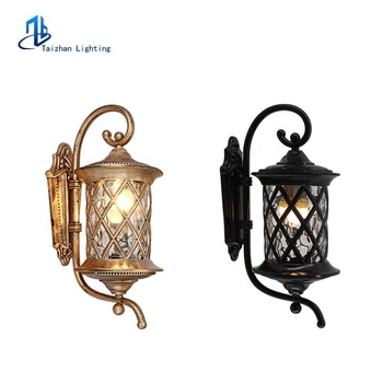 Modern outdoor wall lighting lantern lights villa garden waterproof balcony corridor external wall mounted light