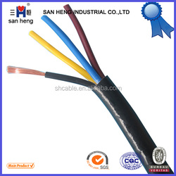 PVC insulated PVC sheathed circular flexible wire