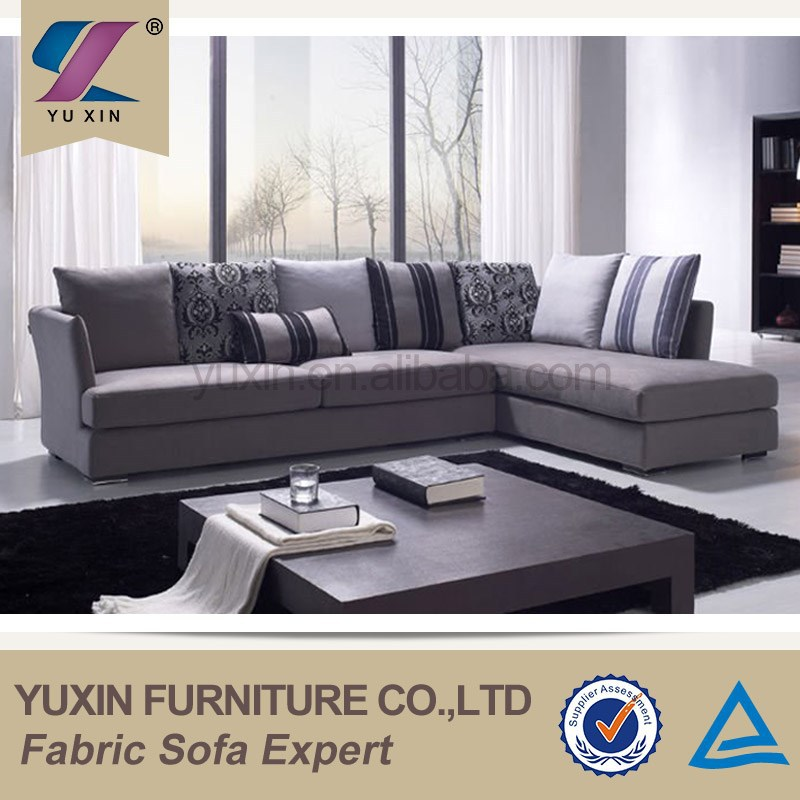 Space saving home furniture sofa price/cheap faric sofa set