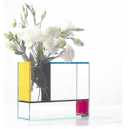 Custom Rectangular Acrylic Flower Vase Plexiglass Vase For Display