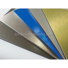 Pvdf/Pe Kynar 500 Aluminum Composite Panels Building Materials/facade/interior Wall Panel/exterior Wall Panel
