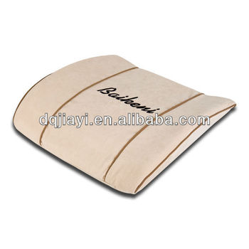 car seat lumbar support memory foam lumbar pillow for car