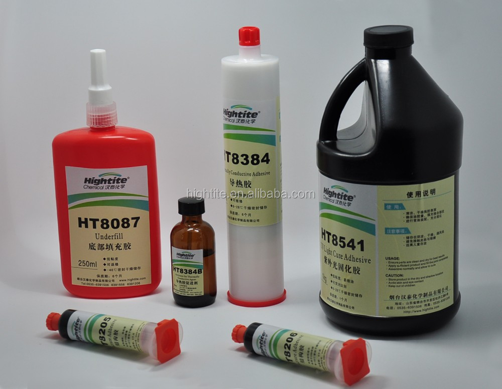 UV Cure glue conformal glue for PCB---HIGHTITE HT8541 on alibaba china