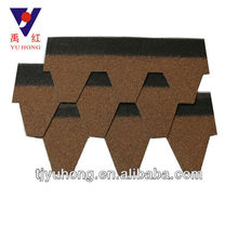 Good quality bitumen shingles roofing tile