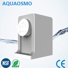 AQUAOSMOTouch Screen Display Table -top Hot/Cold/Ambient Water Dispenser,Mini Water Cooler AQ100-T1