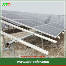 Hot Dip Galvanized Steel Pipe Solar Ground Mounting System