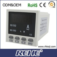 AC/DC Galvanometer LED Display RH-AA81 Single-phase mean current meter