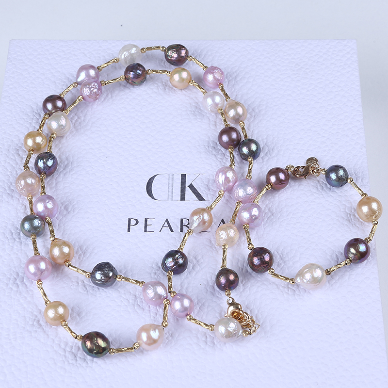 Freshwater Edison Pearl bridal jewelry set wedding
