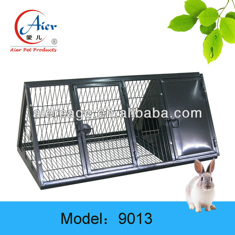large metal rabbit farming cage