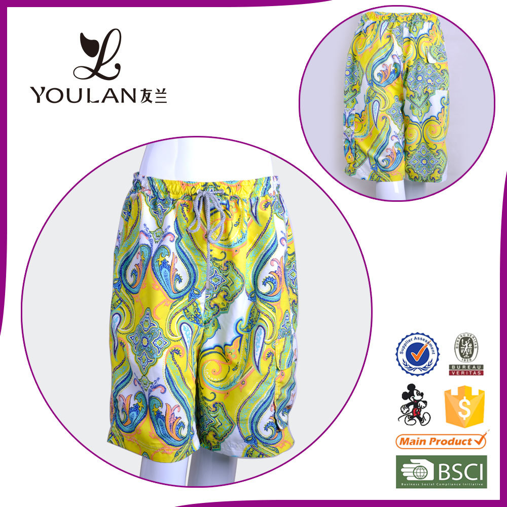 Men New Design Perfect Printed swimsuit surfing hot sex young girl beachwear photo