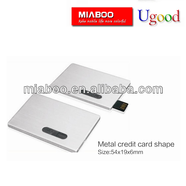 Usb flash drive card shape,card memory pen usb 2.0 with CE certificate free upload date