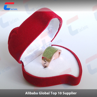 2016 hot model smart nfc ring tag with NTAG213 chip