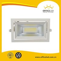 Dental LED Downliht fixture 9W COB lights ceiling downlight size 55x90mm with CE ROHS certificate