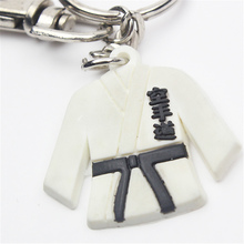 Karate uniform mini accessories, key chain karate aksesoris