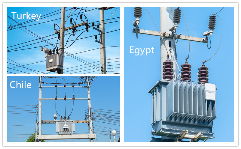 3 phase oil type power transformer for 11kv substation