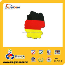 Germany flag magnet sign magnet for decorative magnetic car flag