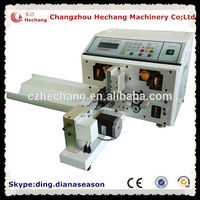 Automatic driver usb midi cable wire cutting stripping twisting machine