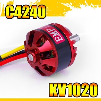 EMP Outrunner brushless motor C4240 KV1020 for airplane