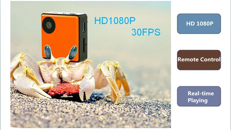 2016 Newest Portable Full HD 1080P Camera Wearable WiFi Mini Sport Camera