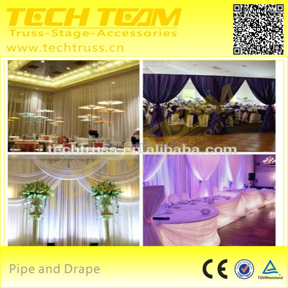 used pipe and drape for sale backdrops