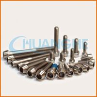 Factory supply good quality super quality racing titanium screw for bicycle
